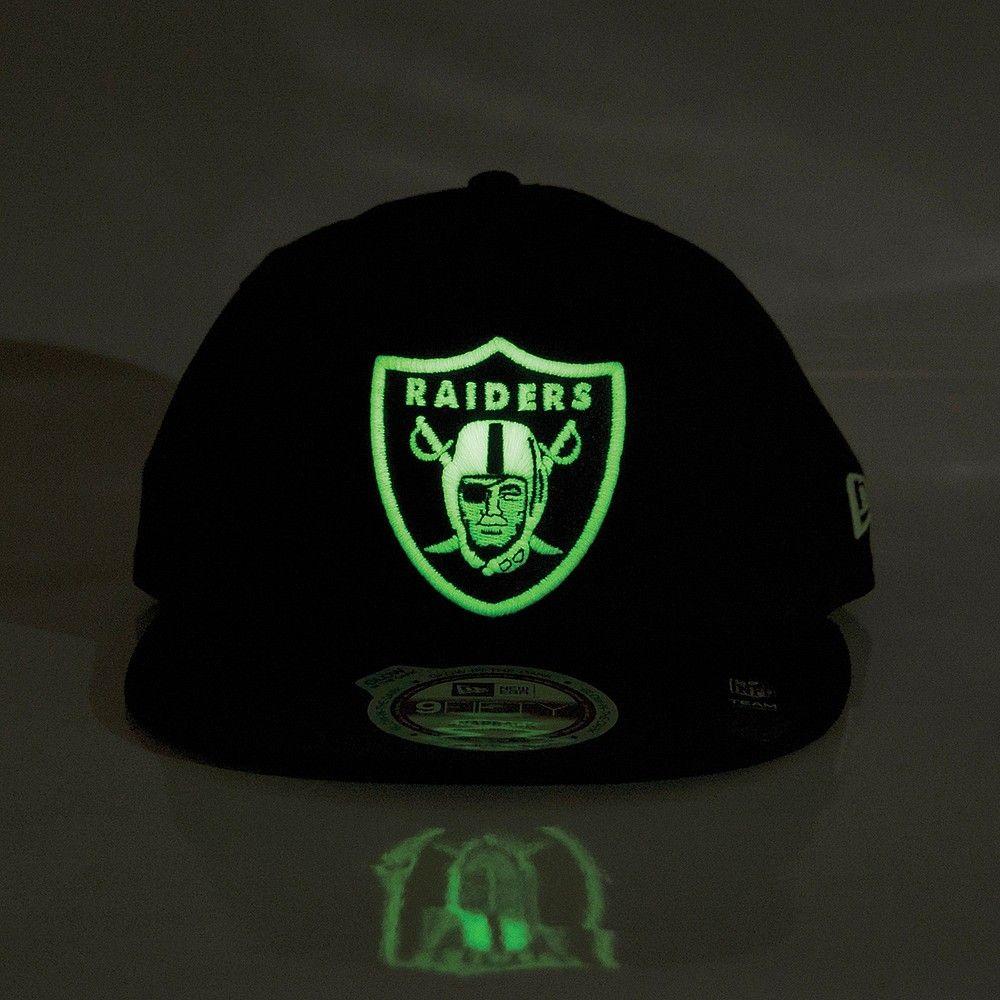 2becd819de6 New Era  Glow In The Dark  Raiders Snapback - Black Glow