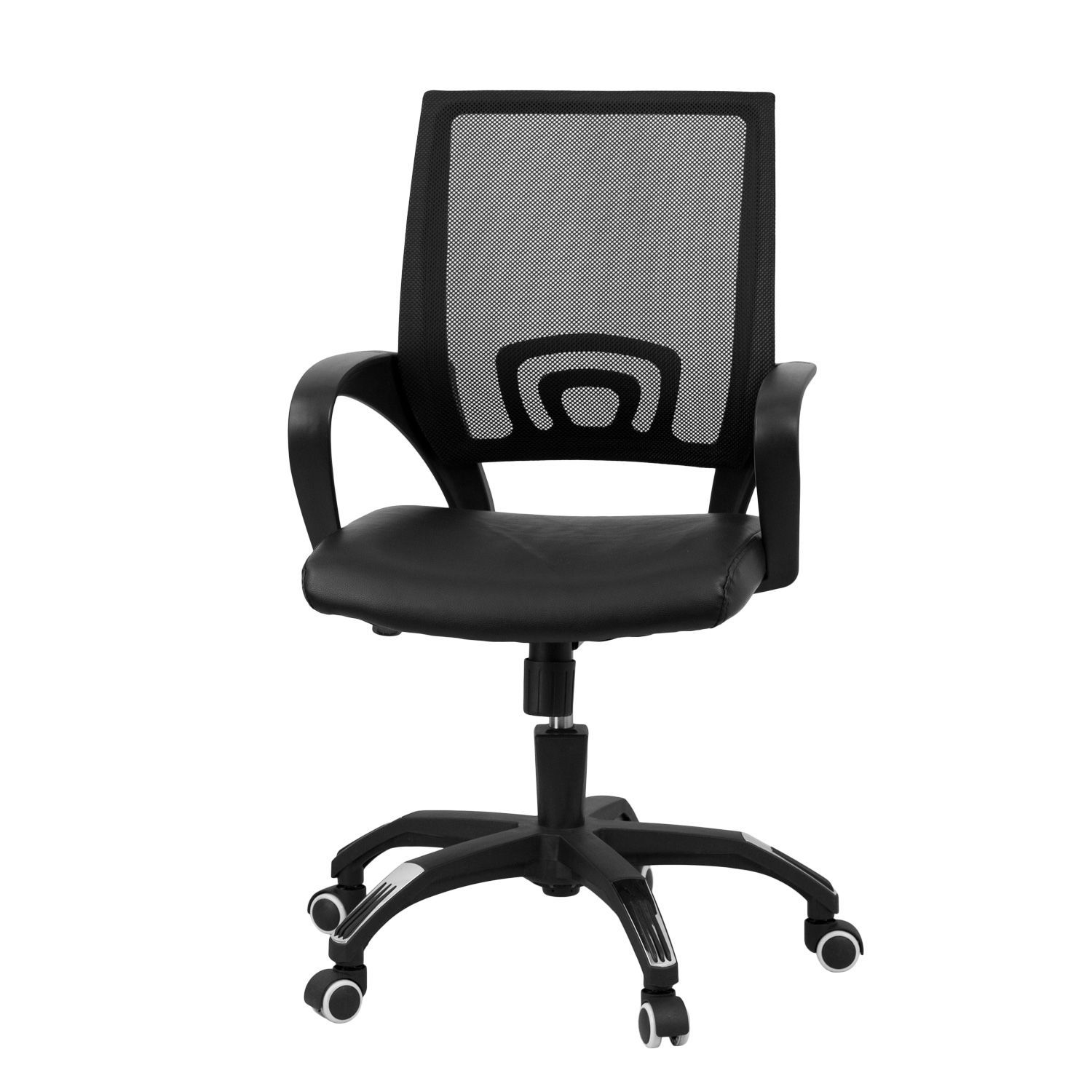 Flash Furniture Mid Back Black Mesh Computer Chair Chair