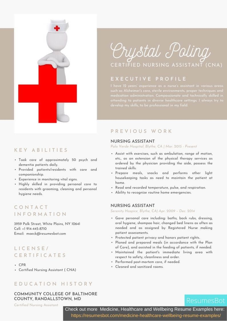 Pin on Medicine, Healthcare and Wellbeing Resume Examples