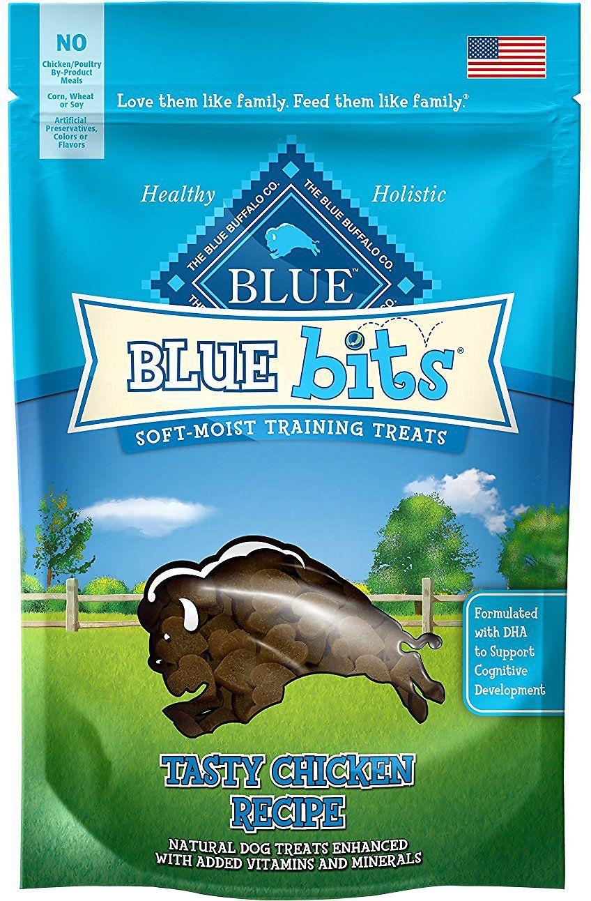 Blue Buffalo Blue Bits Tasty Chicken Recipe Soft Moist Training