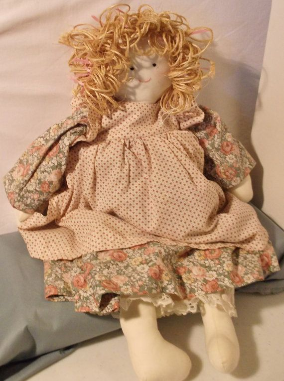Handcrafted Doll with Natural Materials