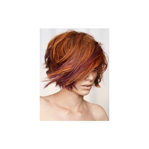 Wispy Layered Medium Hair Styles found on Polyvore