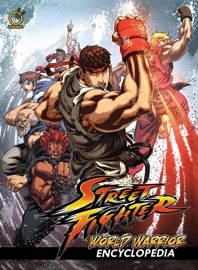 Street Fighter World Warrior Encyclopedia Hc Street Fighter