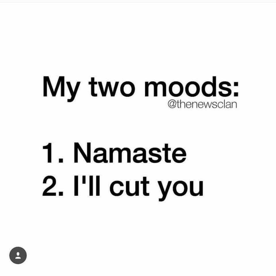 657379271722e6a7a535fcd9d7eb417c namaste motherfucker 25daysofpresence pinterest namaste,Namaste Meme