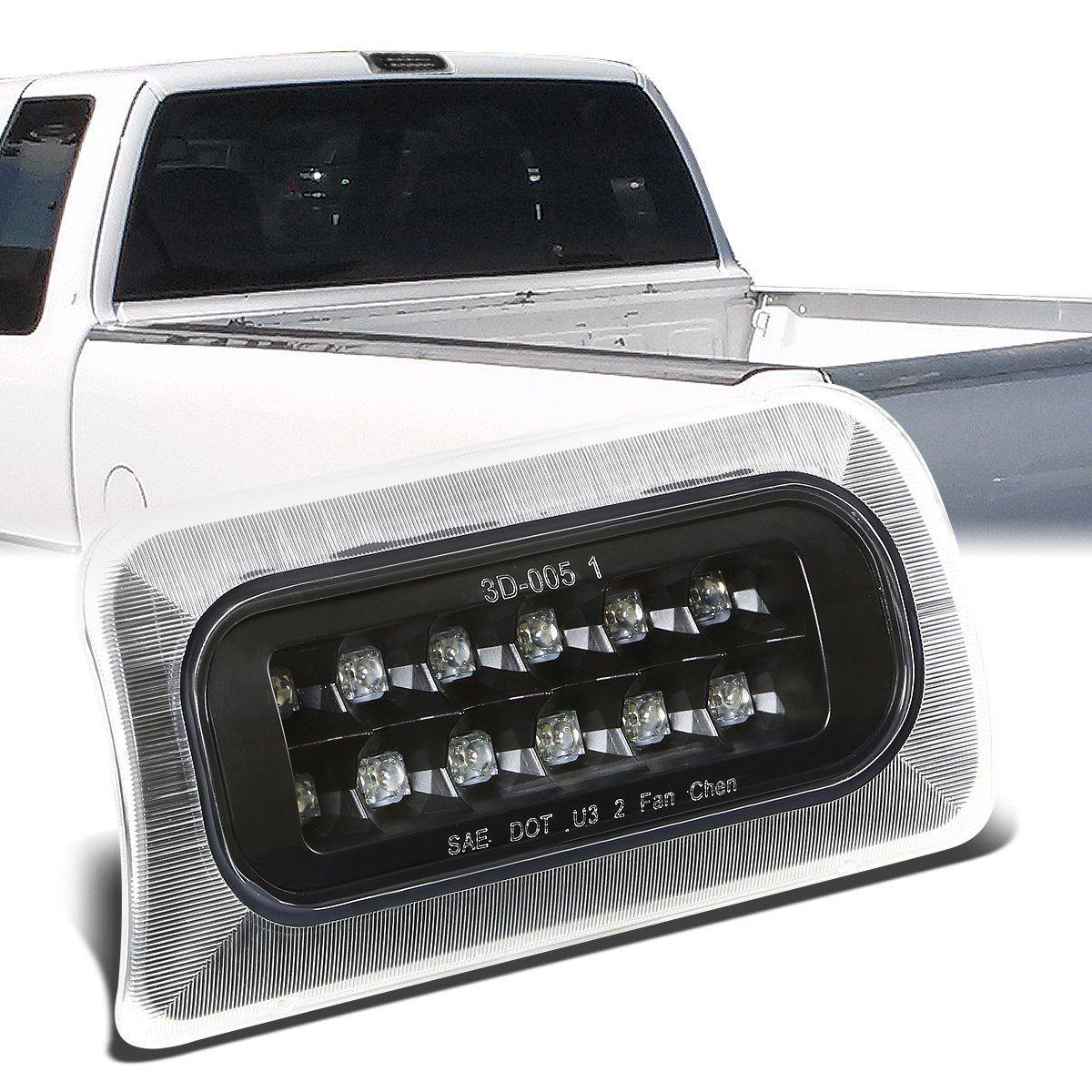 94 03 Chevy S10 Gmc Sonoma Standard Cab Led Third 3rd Tail Brake Light Black Housing Chevy S10 Led Gmc