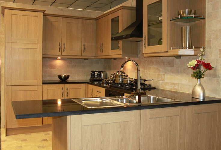 How To White Wash Pine Shaker Style Cabinets   Yahoo Image Search Results ·  Shaker Style CabinetsOak Kitchen ...