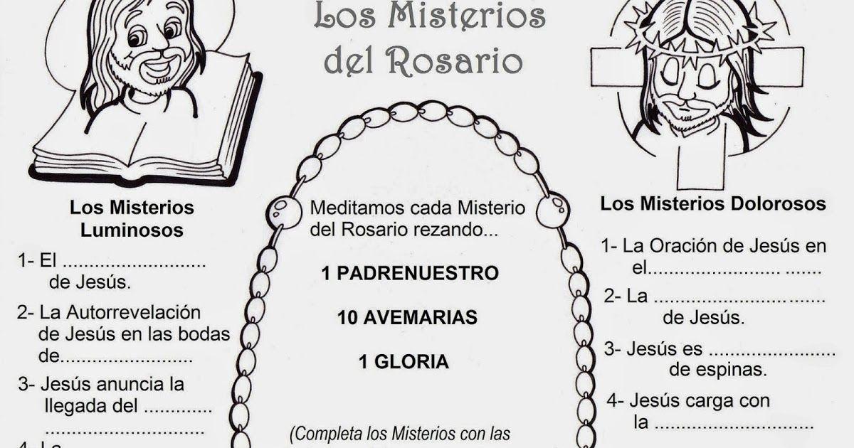 Sgblogosfera Amigos De Jesús El Rosario Actividades Rosarios Santo Rosario Misterios Del Rosario