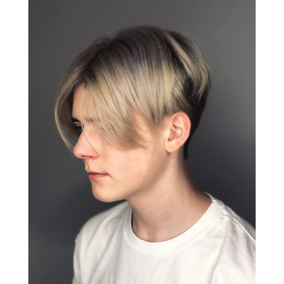 Pin On Center Part Curtains Hairstyle