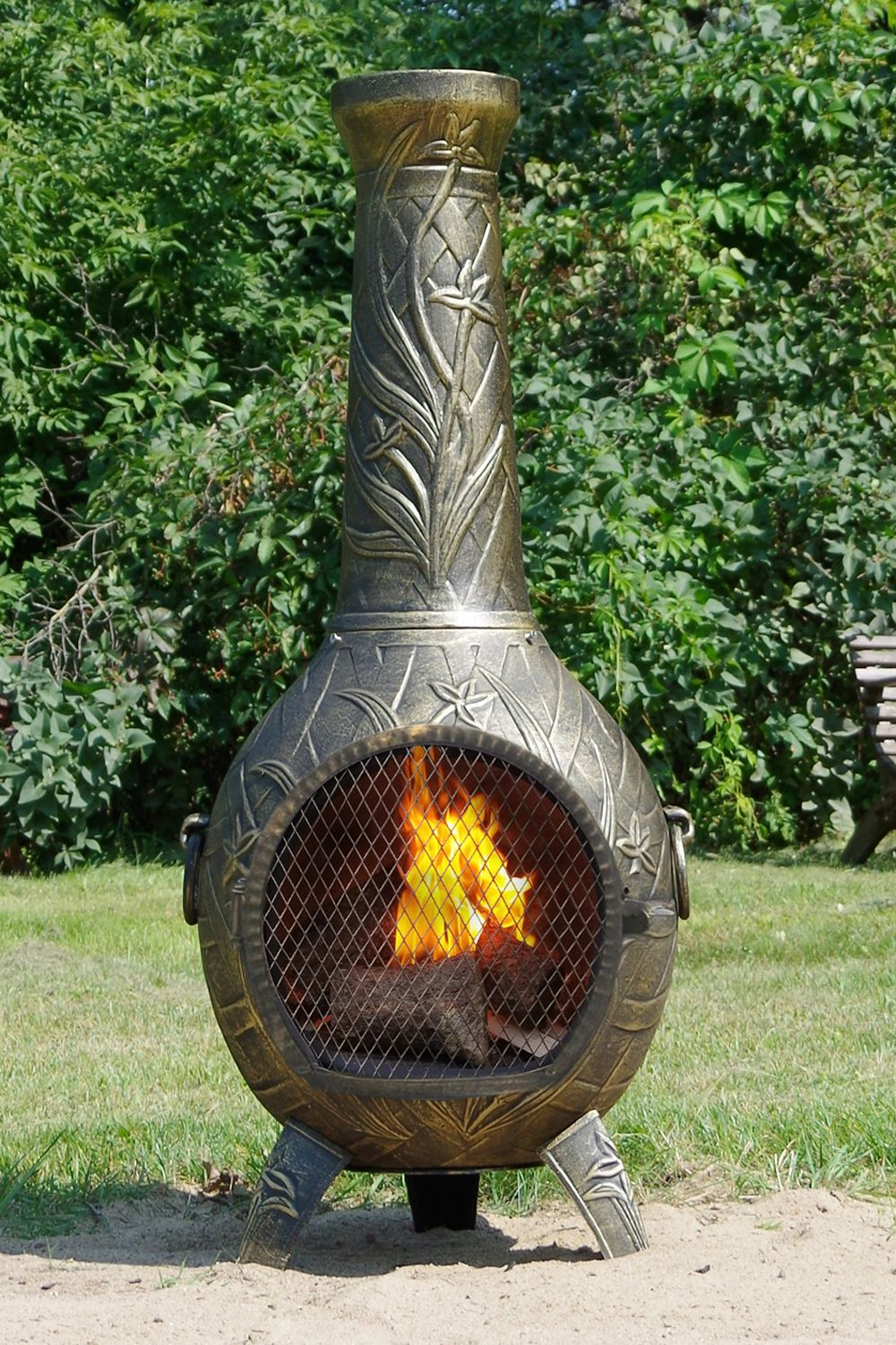Orchid Chiminea Outdoor Fireplace Designs Outdoor Fireplace Fireplace Design