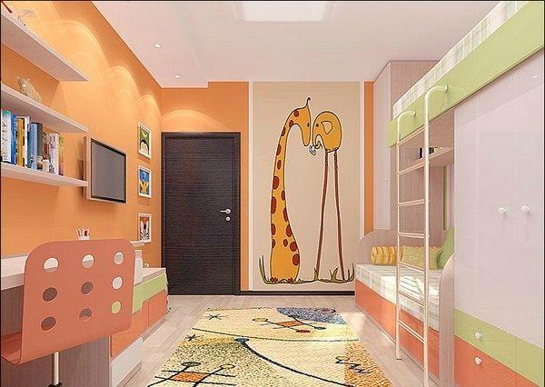 Raum Gestalten kinderzimmer komplett gestalten wenn junge und mädchen einen raum