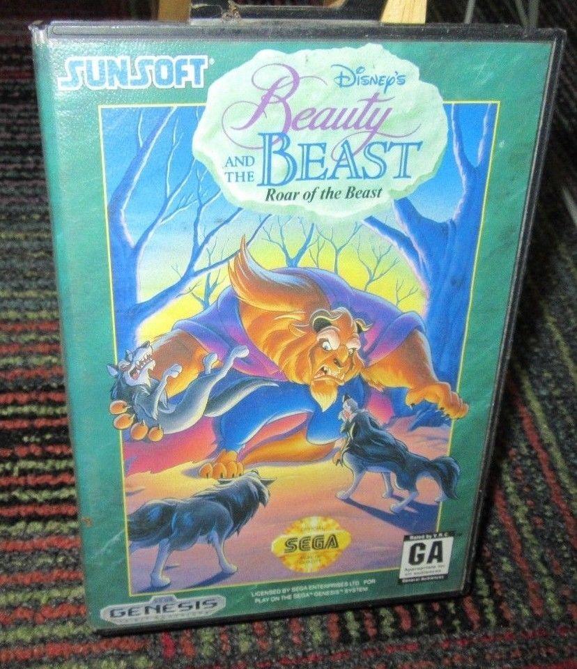 beauty and the beast sega game