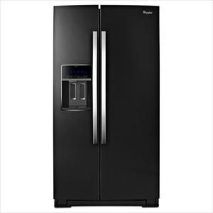 Black Ice Side By Side Refrigerator With The Microedge Shelves