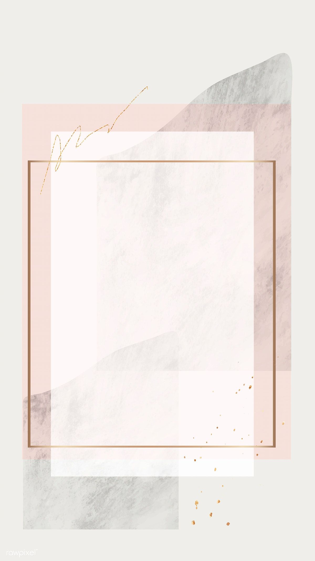 Download premium vector of Blank rectangle mobile
