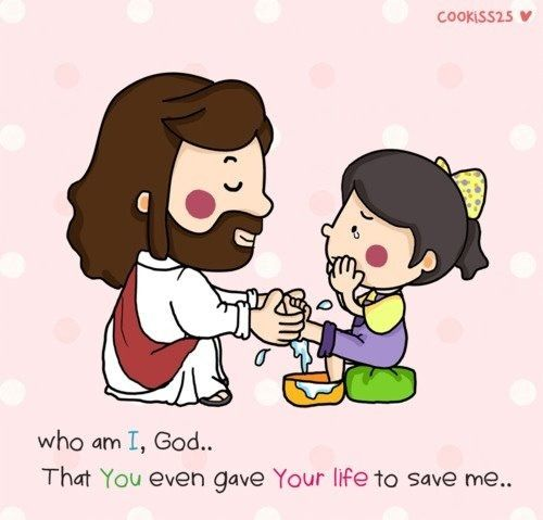 Thank you Jesus for saving us.:)