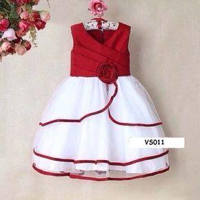 Vestido de fiesta para nina de un anito