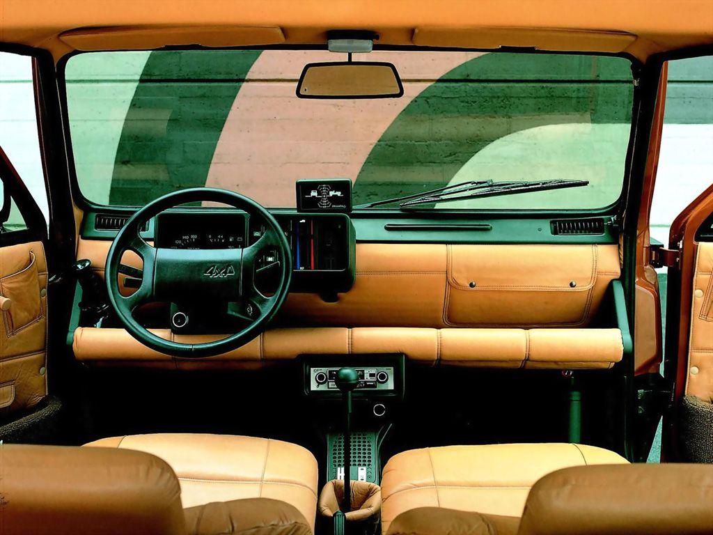 1980 Fiat Panda 4x4 Offroader Veicoli Auto Motori