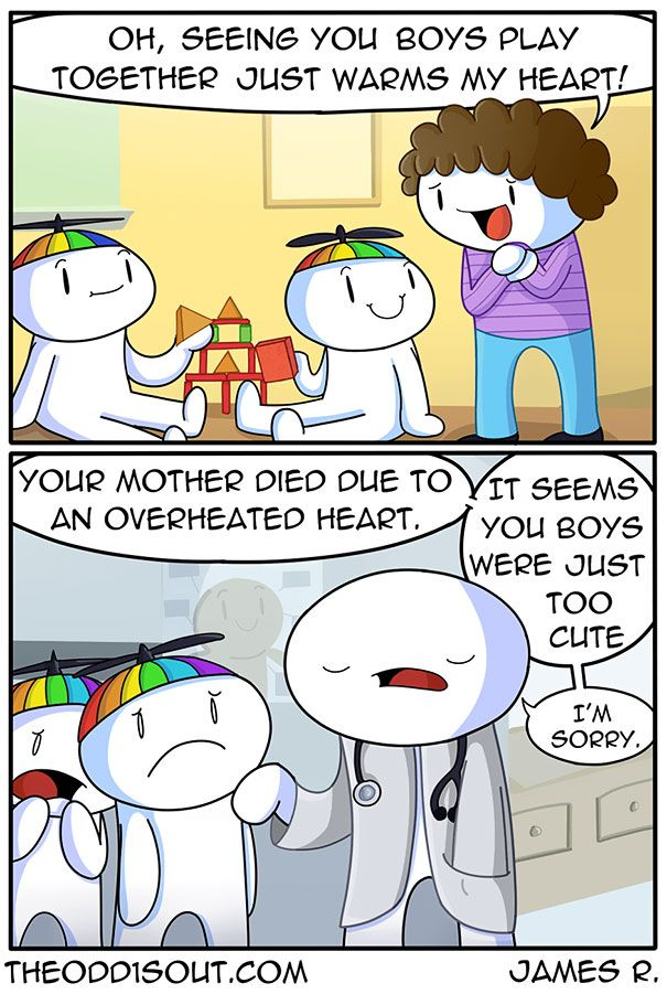 Best Funny Comics These 275 Funny Comics By Theodd1sout Have The Most Unexpected Endings Funny Comics 1