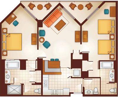 Link to Aulani resort details, including floorplans ...