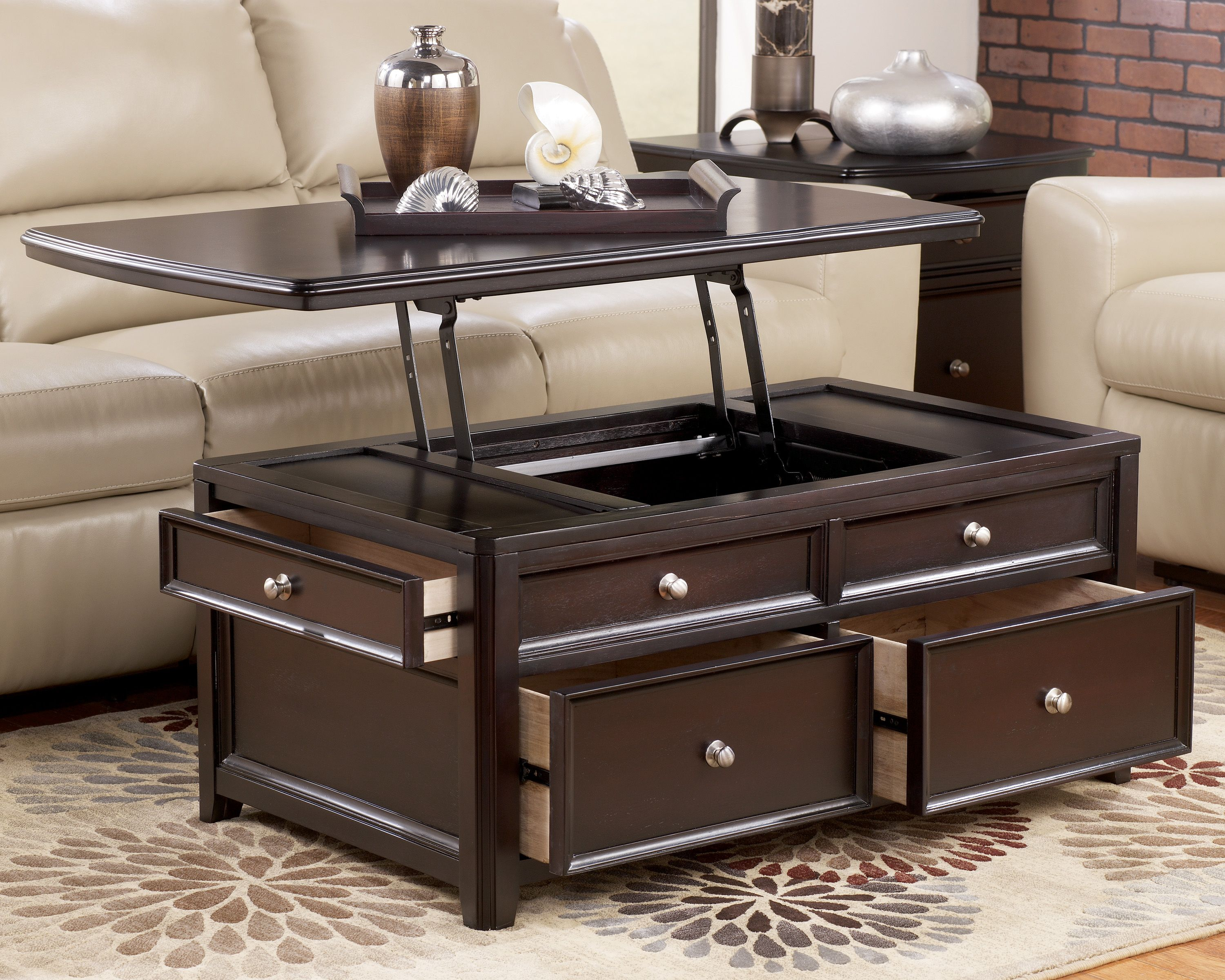 Coffee table with lift up top modern lift top coffee table coffee table with lift up top modern lift top coffee table reviewed by national furniture geotapseo Image collections