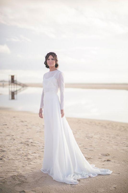 tiendas de vestidos de novia - oh que luna - novias madrid. fotos de