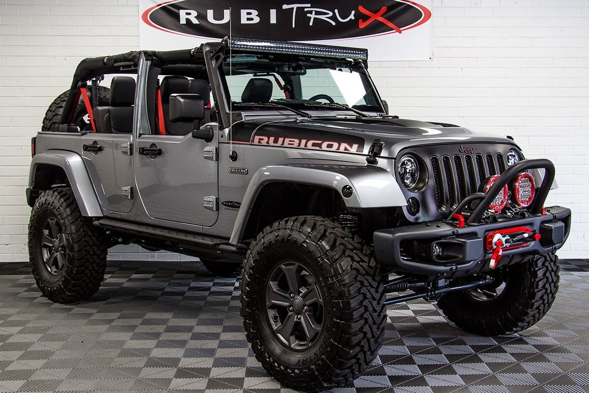 2017 Jeep Wrangler Rubicon Recon Unlimited Shown W Optional Half Doors