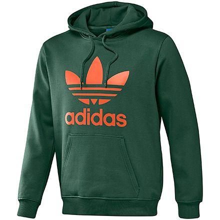 adidas Men's Trefoil Hoodie | adidas UK | Adidas trefoil