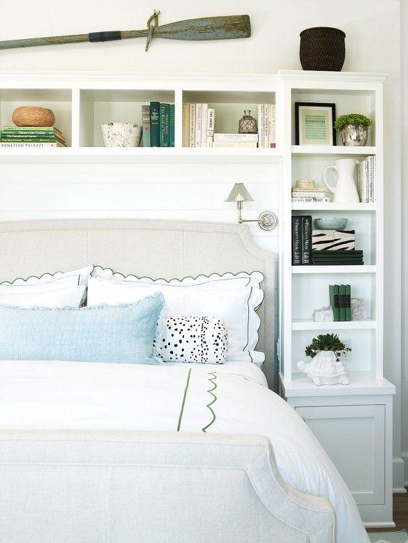 Home Tour Inside An Awesome Coastal California Bedroom Shelves Bookshelf