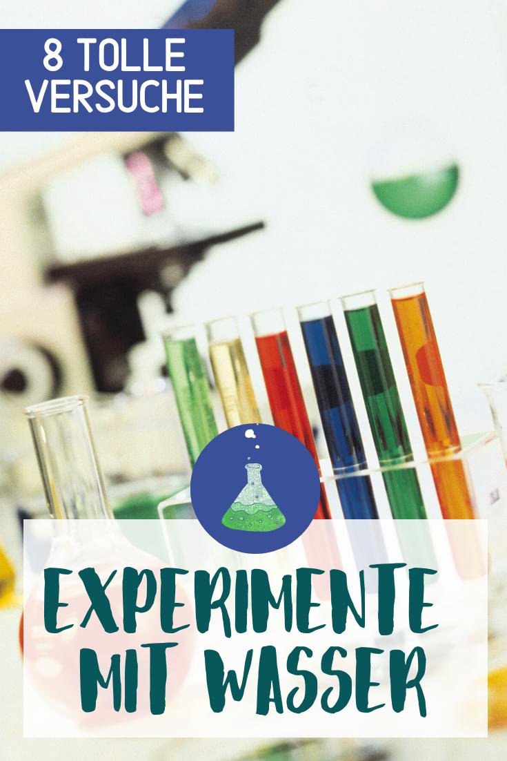 16++ Spiele und experimente mit wasser ideen