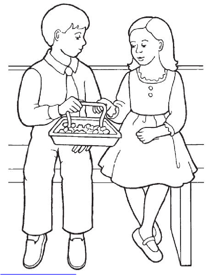 kids taking sacrament (With images) Easter coloring book