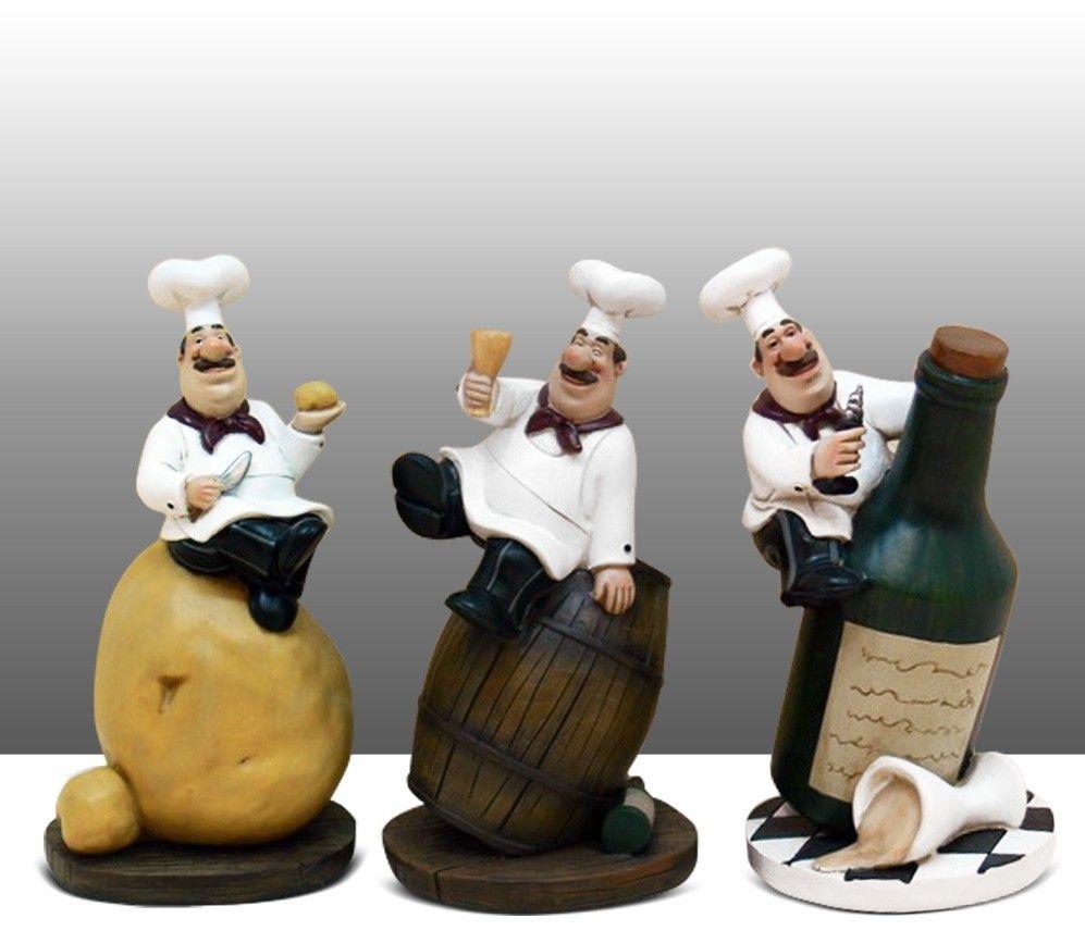 Pin On Chef Figurine