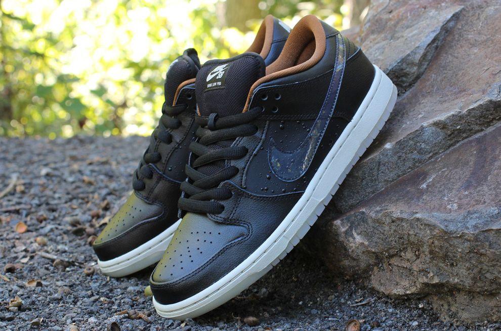 nike dunk low black lebron james shoes