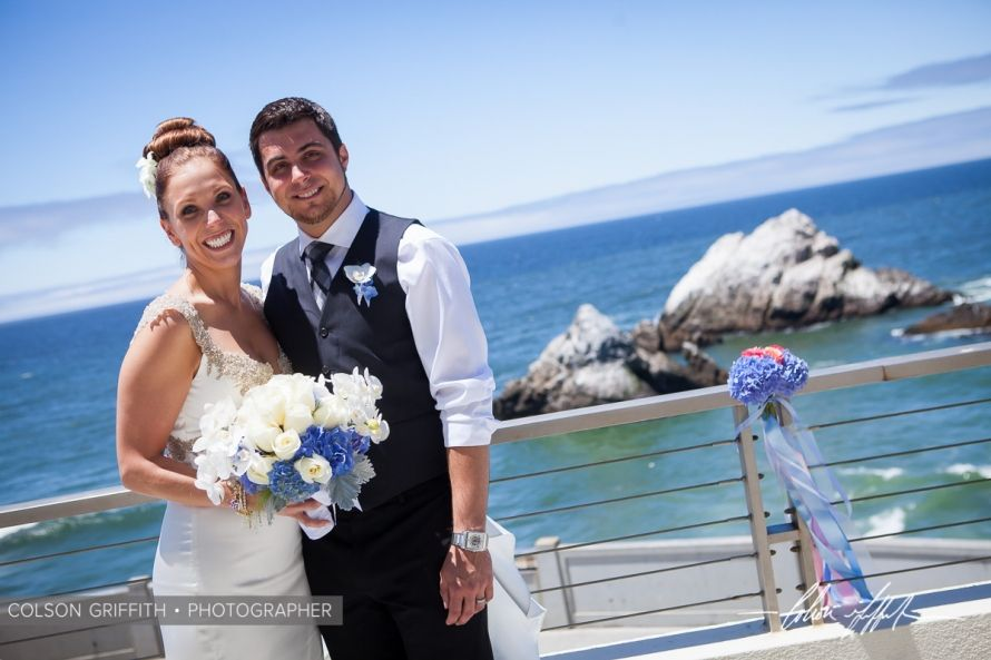 Ocean Beach Cliff House Wedding San Francisco D C 15