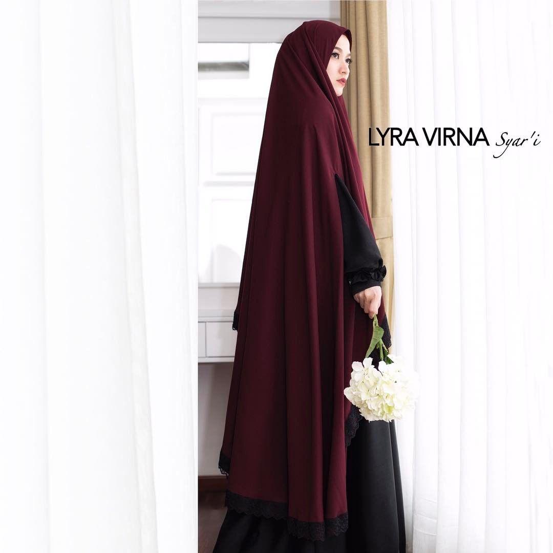 25+ Foto Model Gamis Syar'i Lyra Virna Terbaru 2018 | Gaya ...