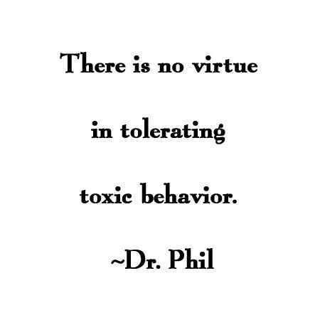 Toxic no more....
