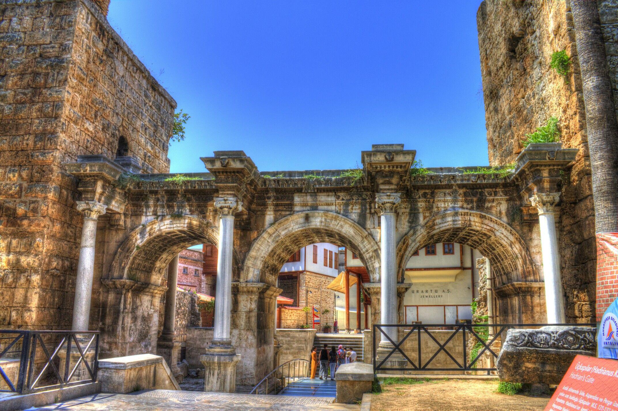 Pin By Pelin T On Roman Turkey Antalya Turkish Architecture House Styles