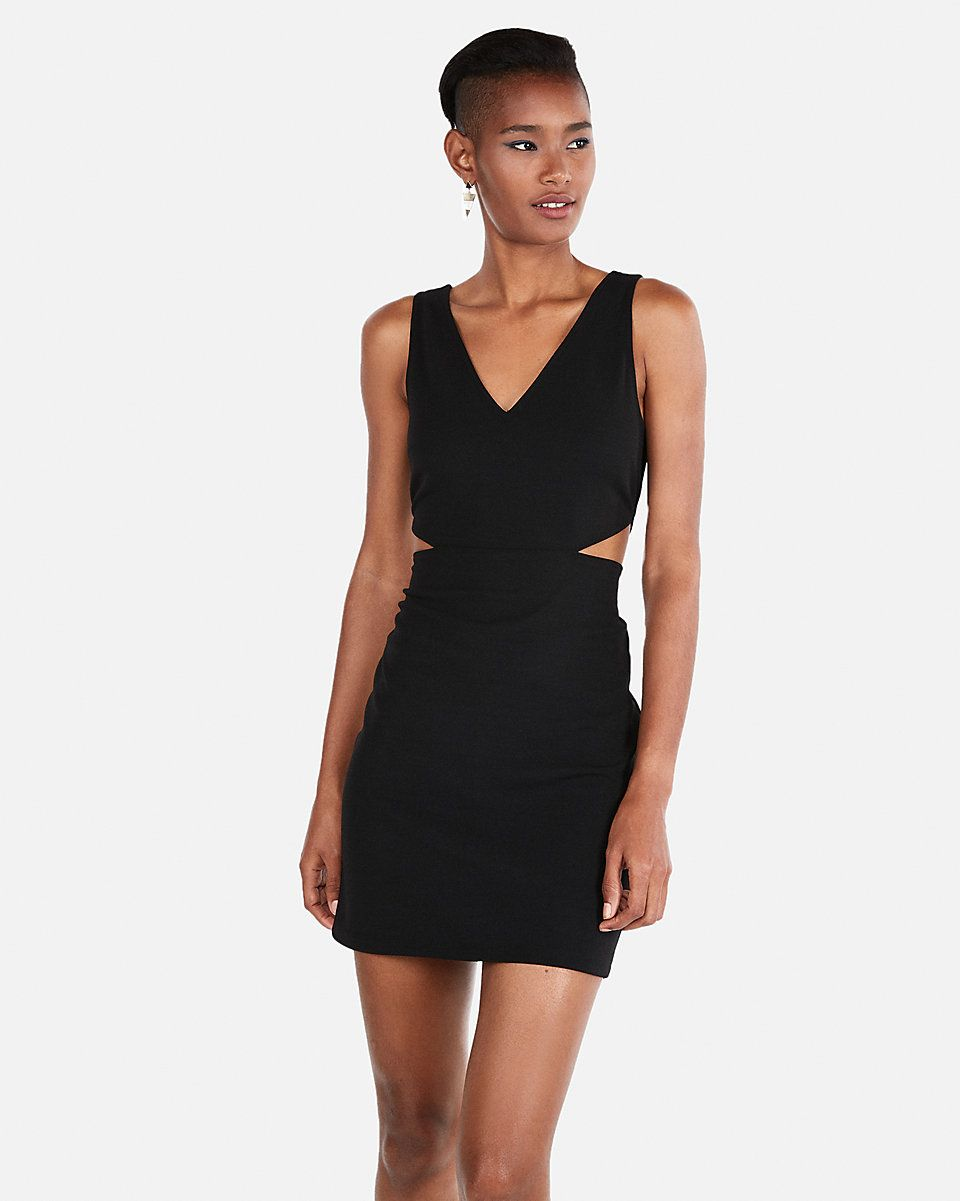 7de7283d Express Side Cut-Out Mini Sheath Dress | DRESS for success | Dresses ...