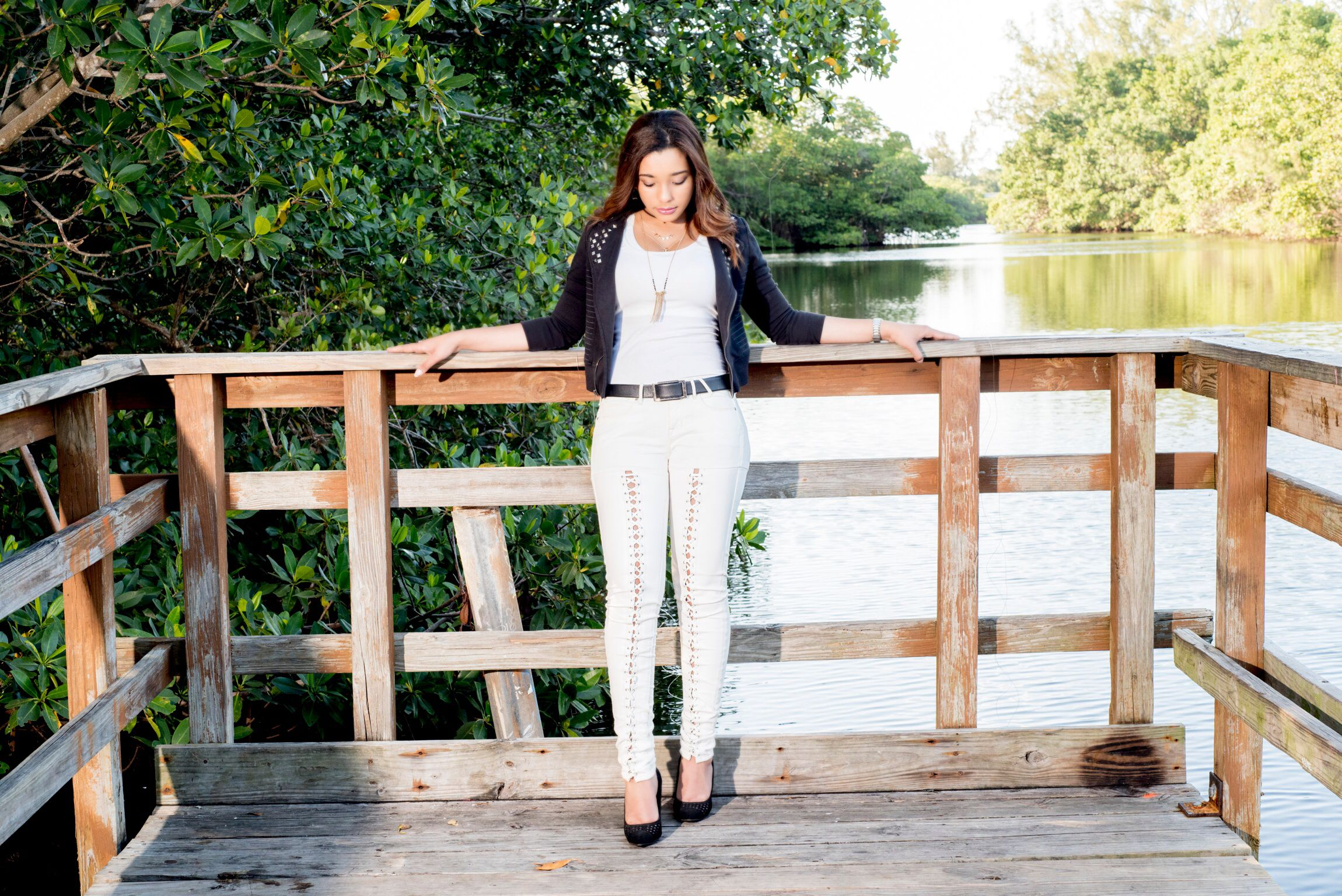 In love with my Guess lace-up Leather jeans. Photo by @jephotopro  #fashionista #fashionblogger #fashionblog #fashionstyle #fashionlover #fasionaddicts #outfitoftheday #style #instafashion #stylebyme #lookbook #streetstyle #photography #photoshoot #miamifashionblogger #miamiphotographer #photoftheday #styleinspiration