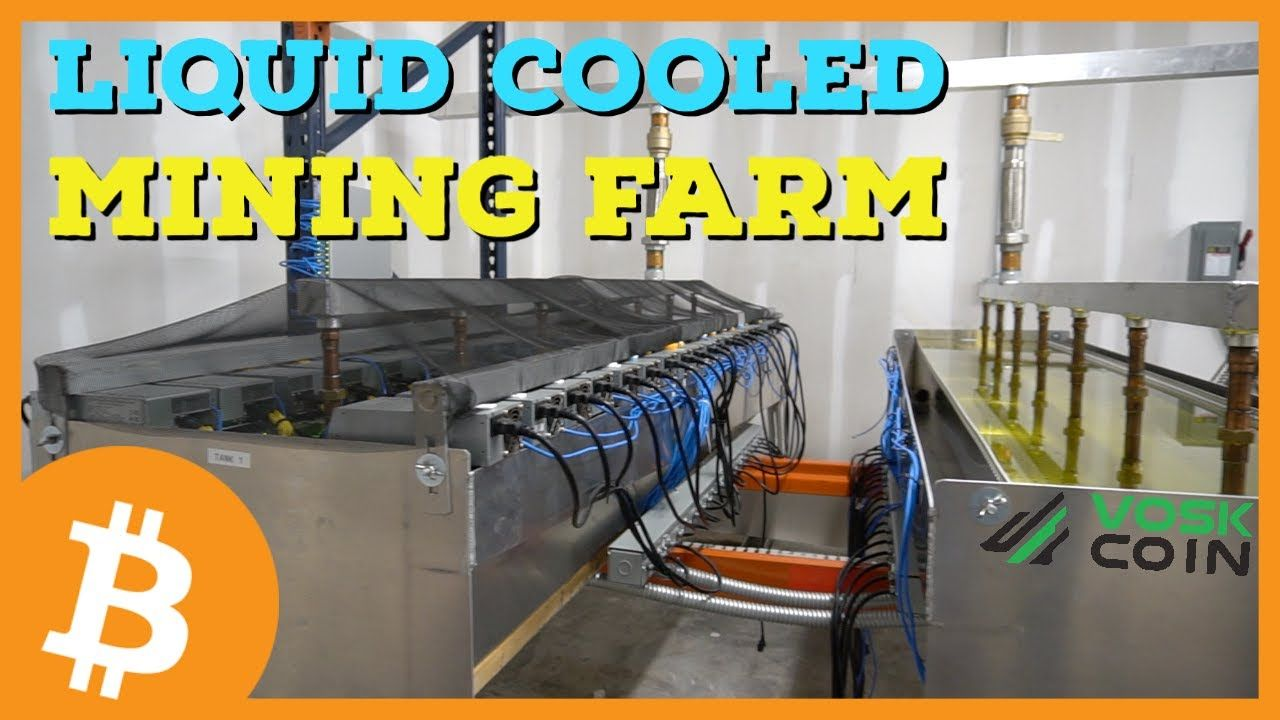 Liquid Cooled Bitcoin Mining Farm Tour Immersion Cooling In 2020