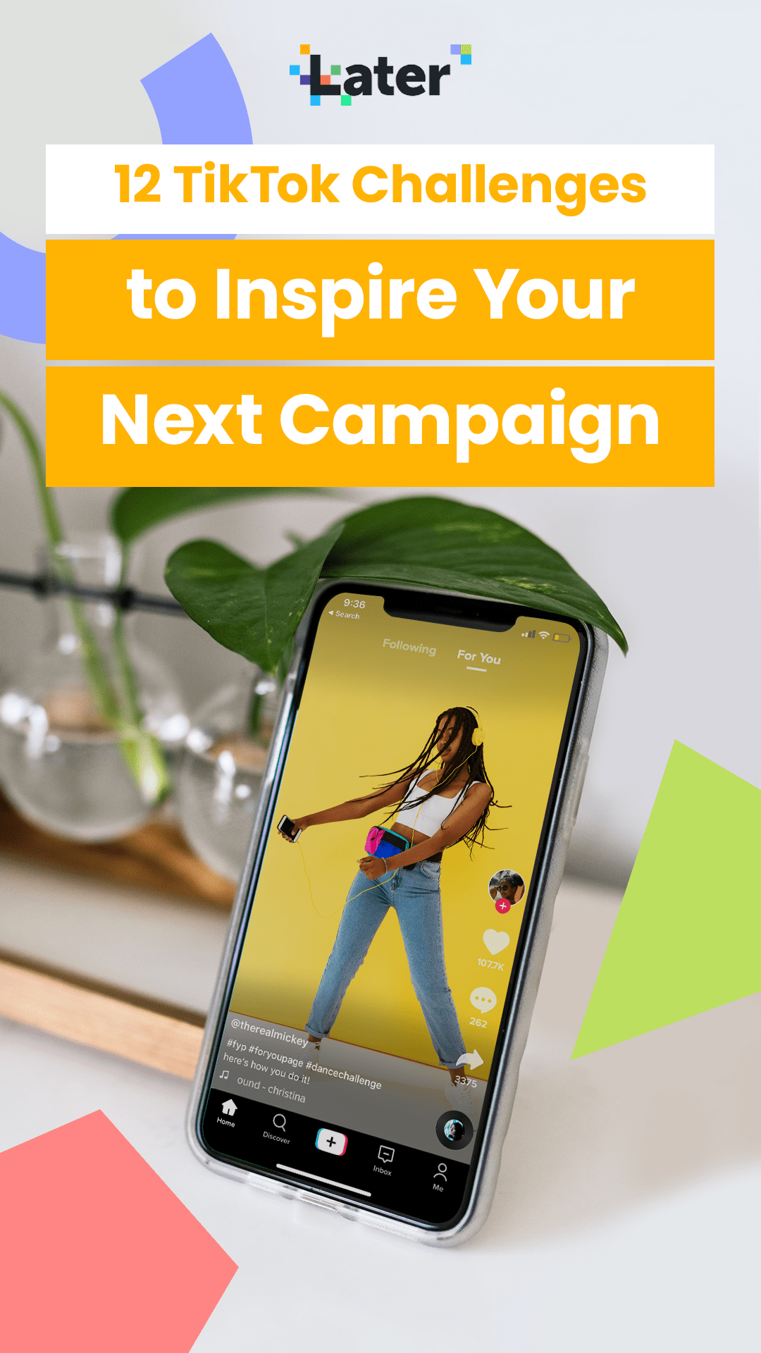 12 Tiktok Challenges To Inspire Your Next Campaign Later Blog Challenges Campaign Best Time To Post