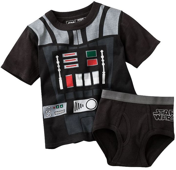 Star Wars Darth Vader 2 Pc Underwear Set Thestylecure Com