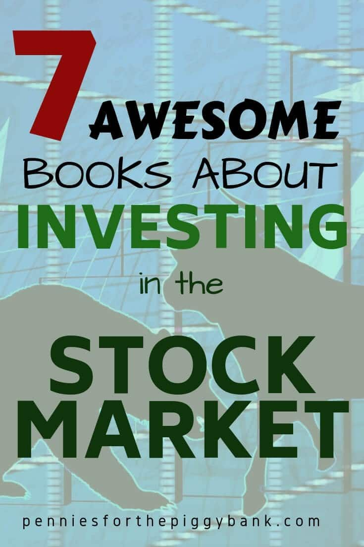 7 Awesome Books About Investing in the Stock Market #Financial #Independence #realestate #financial #investment Vicky Schettini vickyschettini.com