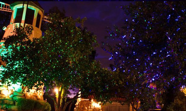 Red Green Blue Laser Light With Remote Motion Indoor Christmas Lights Outdoor Christmas Lights Firefly Lights