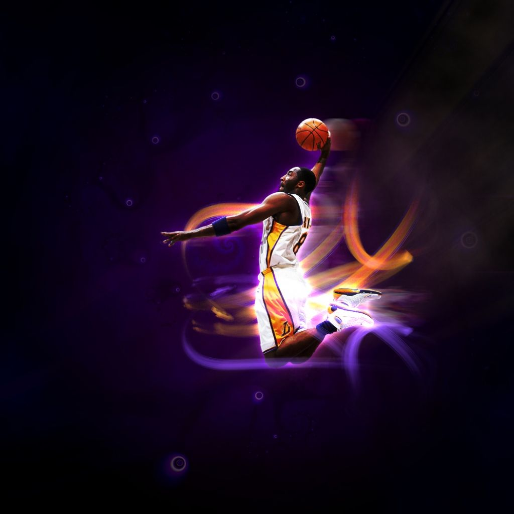 Kobe Bryant Los Angeles Lakers IPad Wallpaper