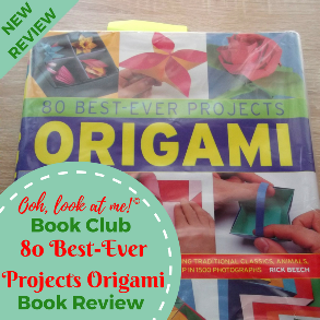 Ooh, look at me! - Christmas Book Club - Book Review Origami by Rick Beech
