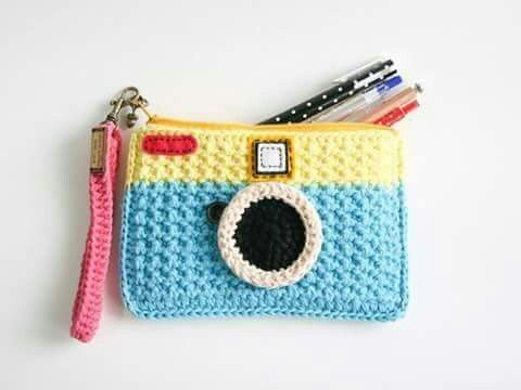 Camera zip pouch