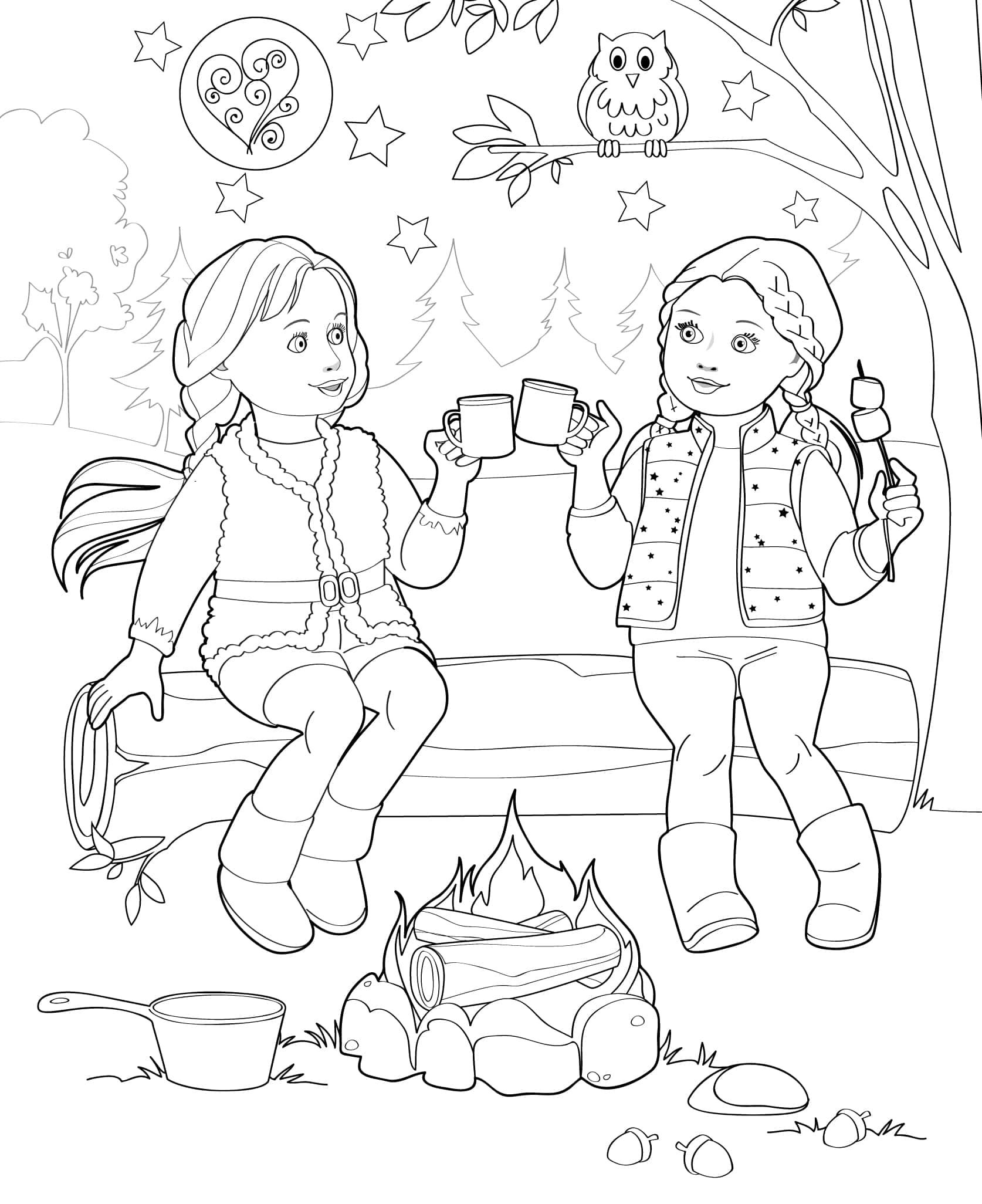Doll Coloring Books Our Generation Coloring Pages Coloring Books Coloring Pictures