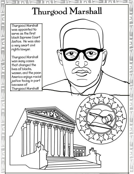 Every month is black history month black history coloring pages maya angelou and thurgood marshall