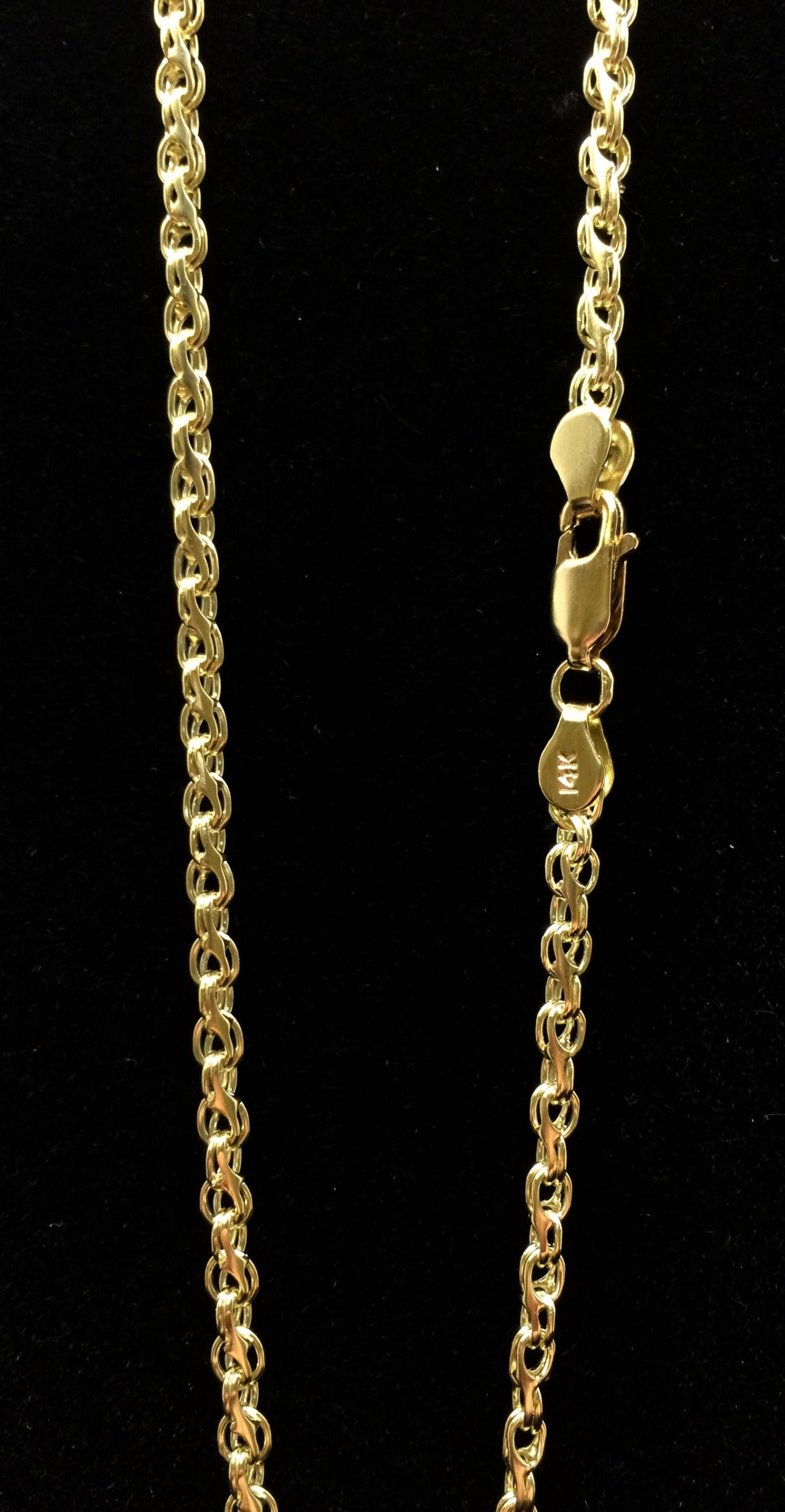 gold gevery chain shop diamond chains wide curb yellow cut australia