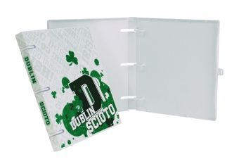 "$6.99 Go Irish! Head to class with your Dublin Scioto Irish UniKeep Case Binder and be the envy of all the other students that are carrying around ""other"" binders to class. Go Irish! Show your school pride!"