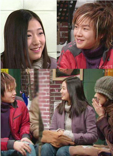 jang keun suk & park shin hye in non stop 4